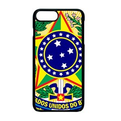 Coat of Arms of Brazil Apple iPhone 7 Plus Seamless Case (Black)