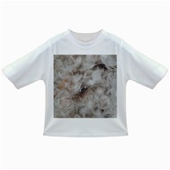 Down Comforter Feathers Goose Duck Feather Photography Infant/Toddler T-Shirts