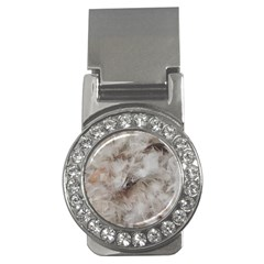Down Comforter Feathers Goose Duck Feather Photography Money Clips (CZ)