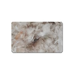 Down Comforter Feathers Goose Duck Feather Photography Magnet (Name Card)