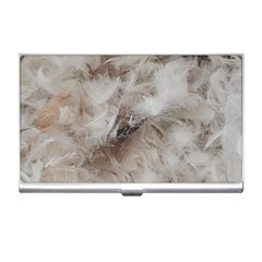 Down Comforter Feathers Goose Duck Feather Photography Business Card Holders