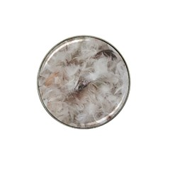 Down Comforter Feathers Goose Duck Feather Photography Hat Clip Ball Marker (4 pack)
