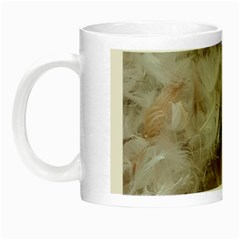 Down Comforter Feathers Goose Duck Feather Photography Night Luminous Mugs
