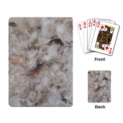 Down Comforter Feathers Goose Duck Feather Photography Playing Card