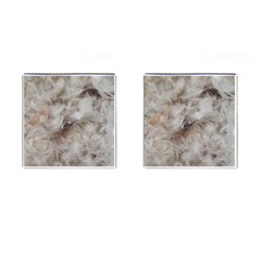 Down Comforter Feathers Goose Duck Feather Photography Cufflinks (Square)
