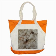 Down Comforter Feathers Goose Duck Feather Photography Accent Tote Bag