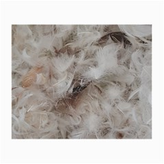Down Comforter Feathers Goose Duck Feather Photography Small Glasses Cloth (2-Side)