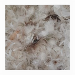 Down Comforter Feathers Goose Duck Feather Photography Medium Glasses Cloth (2-Side)