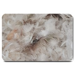 Down Comforter Feathers Goose Duck Feather Photography Large Doormat