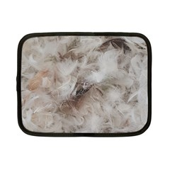 Down Comforter Feathers Goose Duck Feather Photography Netbook Case (Small)