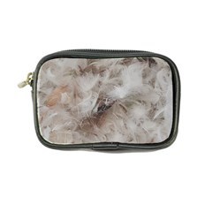 Down Comforter Feathers Goose Duck Feather Photography Coin Purse