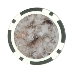 Down Comforter Feathers Goose Duck Feather Photography Poker Chip Card Guards (10 pack)