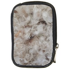 Down Comforter Feathers Goose Duck Feather Photography Compact Camera Cases