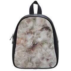Down Comforter Feathers Goose Duck Feather Photography School Bags (Small)