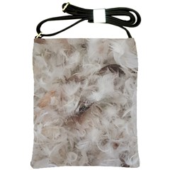 Down Comforter Feathers Goose Duck Feather Photography Shoulder Sling Bags