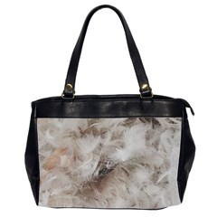 Down Comforter Feathers Goose Duck Feather Photography Office Handbags (2 Sides)