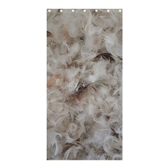 Down Comforter Feathers Goose Duck Feather Photography Shower Curtain 36  x 72  (Stall)