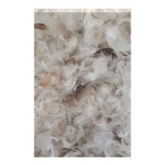 Down Comforter Feathers Goose Duck Feather Photography Shower Curtain 48  x 72  (Small)