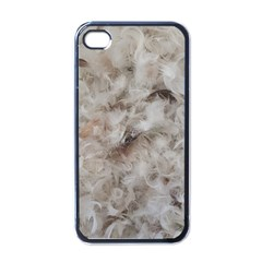 Down Comforter Feathers Goose Duck Feather Photography Apple iPhone 4 Case (Black)