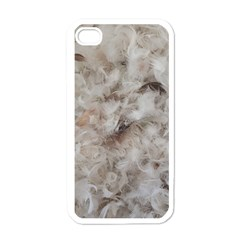 Down Comforter Feathers Goose Duck Feather Photography Apple iPhone 4 Case (White)