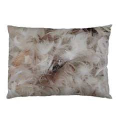 Down Comforter Feathers Goose Duck Feather Photography Pillow Case (Two Sides)