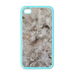 Down Comforter Feathers Goose Duck Feather Photography Apple iPhone 4 Case (Color)