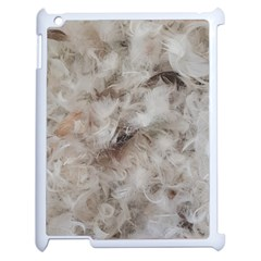 Down Comforter Feathers Goose Duck Feather Photography Apple iPad 2 Case (White)