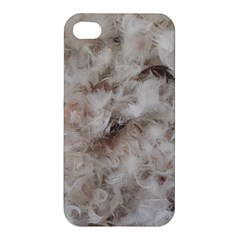 Down Comforter Feathers Goose Duck Feather Photography Apple iPhone 4/4S Hardshell Case