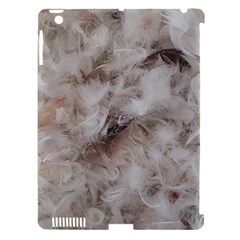 Down Comforter Feathers Goose Duck Feather Photography Apple iPad 3/4 Hardshell Case (Compatible with Smart Cover)