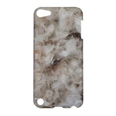 Down Comforter Feathers Goose Duck Feather Photography Apple iPod Touch 5 Hardshell Case