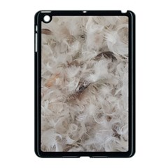 Down Comforter Feathers Goose Duck Feather Photography Apple iPad Mini Case (Black)