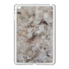 Down Comforter Feathers Goose Duck Feather Photography Apple iPad Mini Case (White)