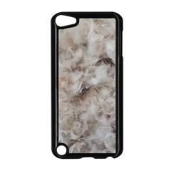 Down Comforter Feathers Goose Duck Feather Photography Apple iPod Touch 5 Case (Black)