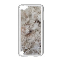 Down Comforter Feathers Goose Duck Feather Photography Apple iPod Touch 5 Case (White)