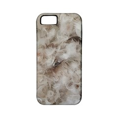 Down Comforter Feathers Goose Duck Feather Photography Apple iPhone 5 Classic Hardshell Case (PC+Silicone)