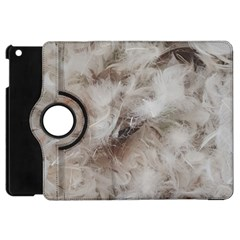 Down Comforter Feathers Goose Duck Feather Photography Apple iPad Mini Flip 360 Case