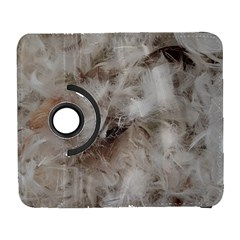 Down Comforter Feathers Goose Duck Feather Photography Galaxy S3 (Flip/Folio)
