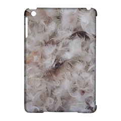 Down Comforter Feathers Goose Duck Feather Photography Apple iPad Mini Hardshell Case (Compatible with Smart Cover)