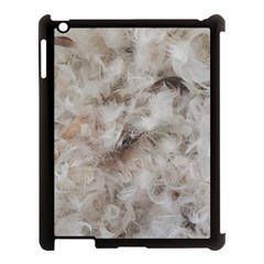 Down Comforter Feathers Goose Duck Feather Photography Apple iPad 3/4 Case (Black)