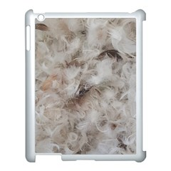 Down Comforter Feathers Goose Duck Feather Photography Apple iPad 3/4 Case (White)