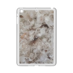 Down Comforter Feathers Goose Duck Feather Photography Ipad Mini 2 Enamel Coated Cases
