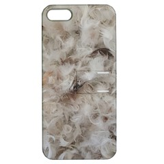 Down Comforter Feathers Goose Duck Feather Photography Apple iPhone 5 Hardshell Case with Stand