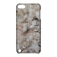 Down Comforter Feathers Goose Duck Feather Photography Apple iPod Touch 5 Hardshell Case with Stand