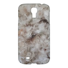 Down Comforter Feathers Goose Duck Feather Photography Samsung Galaxy S4 I9500/I9505 Hardshell Case