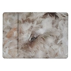 Down Comforter Feathers Goose Duck Feather Photography Samsung Galaxy Tab 10.1  P7500 Flip Case