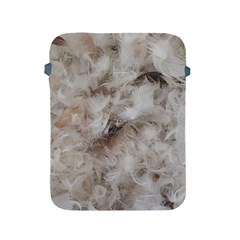 Down Comforter Feathers Goose Duck Feather Photography Apple iPad 2/3/4 Protective Soft Cases
