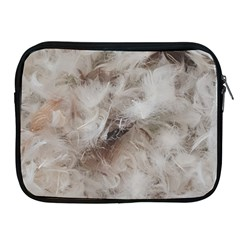 Down Comforter Feathers Goose Duck Feather Photography Apple iPad 2/3/4 Zipper Cases