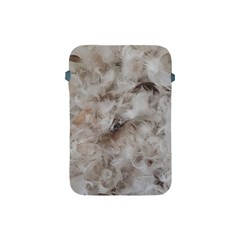 Down Comforter Feathers Goose Duck Feather Photography Apple iPad Mini Protective Soft Cases