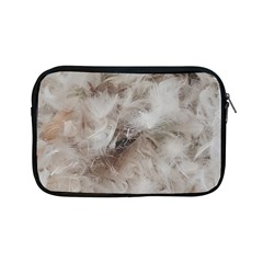 Down Comforter Feathers Goose Duck Feather Photography Apple iPad Mini Zipper Cases