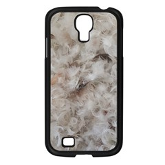 Down Comforter Feathers Goose Duck Feather Photography Samsung Galaxy S4 I9500/ I9505 Case (Black)